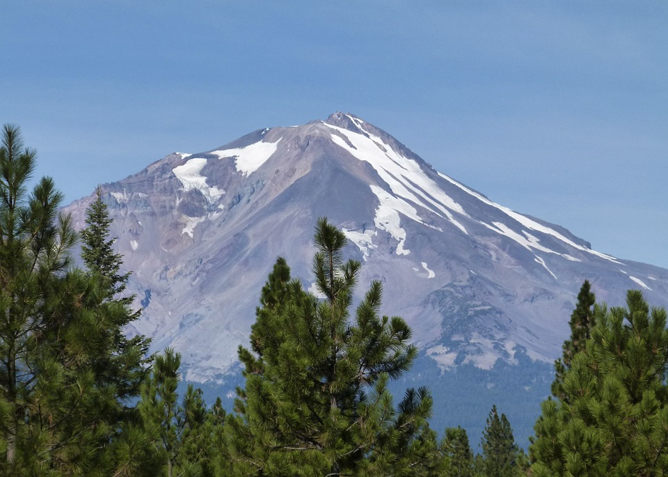 Usa Siskiyou County Mount Shasta California